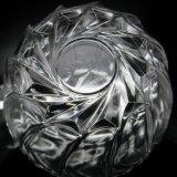 Geprägte transparente Glastafelgeschirr-Filterglocke