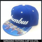 Sombrero Snapback bordado personalizado nuevo y la tapa