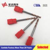 Outil de coupe en carbure 40-68 HRC Solid Carbide fin Mills l'extrémité en carbure de tungstène Mills