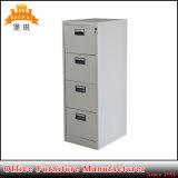 Gabinete de arquivo de suspensão da gaveta do metal 4 de /Office do gabinete de arquivo do escritório de aço de Jas-002-4D