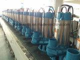 V tipo pompa ad acqua sommergibile delle acque luride dell'acciaio inossidabile per irrigazione