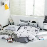 Haupttextilbaumwollbettwäsche-Set mit Bett-Blattduvet-Deckel