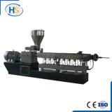 Granulador de borracha plástico de EPDM com a máquina horizontal da extrusão do anel da água