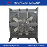 幼虫の発電機セットのための銅の冷却装置