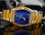 Diamanten het Horloge van het Kwarts van de Manier van Dame Men's
