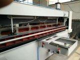 Folheado de madeira empilhados ou materiais decorativos Cropper máquina de corte/ folheado de madeira contraplacada Guilhotina Hidráulica CNC Máquina de Cisalhamento