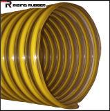 Plastique renforcé en spirale en PVC flexible d'aspiration de l'eau du tuyau flexible de jardin