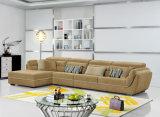 居間の家具ファブリックコーナーのソファー