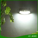 비발한 미소 쉬운 태양 PIR 운동 측정기 벽 빛은 장식적인 옥외 희미한 태양 정원 빛을 설치한다