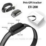 IP66 Resistente al agua mascotas rastreador de GPS para perro con GEO-Fence (EV-200).