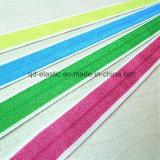 Атласный перед лицом Custom Print Снимите эластичный эластичные ленты ленты