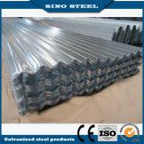 Hoja acanalada galvanizada del material para techos de la hoja del hierro