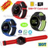 De nieuwste Telefoon van het Horloge van Bluetooth van de Camera Slimme met Antilost W9