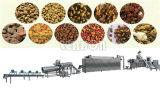 La fabricación de alimentos para mascotas la línea de producción completo