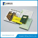 Impressão projetada especial do livro de papel com cartão pequeno