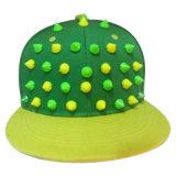 Gorras de béisbol calientes del Snapback de la venta con el cuero artificial SD06