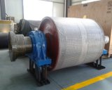 Ceramica-Lagged Pulley della Gomma-Lagged Pulley/di 30000h Conveyor Pulley/