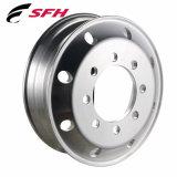 Il cerchione della lega lucidato ha forgiato la rotella del camion della lega di alluminio