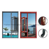 Popular Feelingtop Casement Ventana aluminio termolacado (FT-W135)