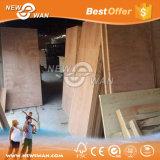 Madera contrachapada de álamo Puerta flexible de la piel de madera contrachapada Clasificado para puerta interior