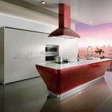 заводская цена акриловые кухонным шкафом с алюминиевыми кухня дверцы шкафа электроавтоматики