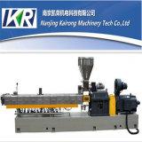 Estirador de tornillo plástico del gemelo del paralelo de la pelotilla de Nanjing que hace la máquina
