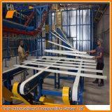 Linha de revestimento de alumínio vertical a rendimento elevado do pó