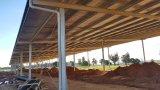 販売のための熱い電流を通す鋼鉄豚舎および家畜の小屋