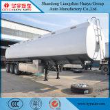 3 Kraftstoff-Tanker der Wellen-45cbm/Becken-halb LKW-Schlussteil