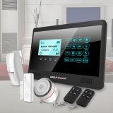 Preço de fábrica sem fio do sistema do alarme anti-roubo de segurança Home de WiFi+GSM 433MHz