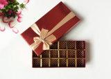 Vakje van de Gift van het Vakje van de Chocolade van Kerstmis van het Karton van het Document van het Vakje van de verpakking het Verpakkende