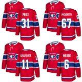 2018 Nova Marca Adulto Lady Kid Montreal Canadiens 31 Carey Preço 67 Max Pacioretty 11 Brendan Gallagher 6 Shea Weber Vermelho qualquer nome personalizado & N. Hockey camisolas