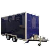 Auto van het Voedsel van de Aanhangwagen van het Voedsel van de Straat van de Kiosken van de Karren van het voedsel de Mobiele met Wielen
