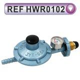 Regolatore di pressione bassa di alluminio/in lega di zinco per gas naturale/GPL (HWR0101)