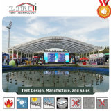 Tent van de Koepel van de Spanwijdte van het Frame van het Aluminium van Liri de Duidelijke met Transparante Bovenkant voor OpenluchtGebeurtenis