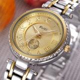 Wristwatch кварца повелительниц римских цифров Belbi ретро водоустойчивый