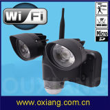 Камера света обеспеченностью датчика движения DVR WiFi СИД с PIR (ZR720)
