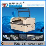 Doppia macchina per incidere di cuoio capa del laser del CO2 Tsyq-160100