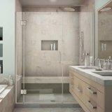 Zoll-Ordnung Frameless Dusche-Bildschirm-Dusche-Tür für Badezimmer