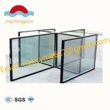 Low-e limpar a janela de vidro com isolamento