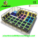 Adult interno Big Jumping Trampoline com Safety Net (3518-1C)