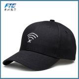 Gorra de béisbol del Snapback de la insignia del bordado de Custon con la hebilla del metal
