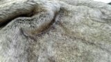 コートのための新しい編まれた長いパイル生地ののどの毛皮の偽造品の毛皮の人工毛皮か帽子または衣服