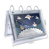 Limpar mesa de suporte do Álbum de fotografias de acrílico