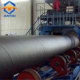Granallado automático interno de la máquina para la limpieza de tuberías para el tubo de acero