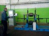 電動機の回転子のバランスをとる機械