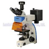 Microscopio di fluorescenza sistematico di Trinocular del laboratorio (LF-302)