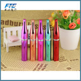 8ml frasco de perfume chapitel de vidrio de metal de color Color Spray frasco de perfume