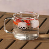 Personnaliser la cuvette en verre de thé en verre Pyrex tasse de thé le thé en verre Pyrex