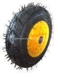 Rotella di gomma pneumatica 4pr della carriola da 16 pollici